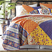 Charleval Quilt, Decorative Pillow and Sham by Jessica Simpson