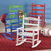 personalized child s rocking chair 25