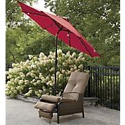 9' Solar Patio Umbrella