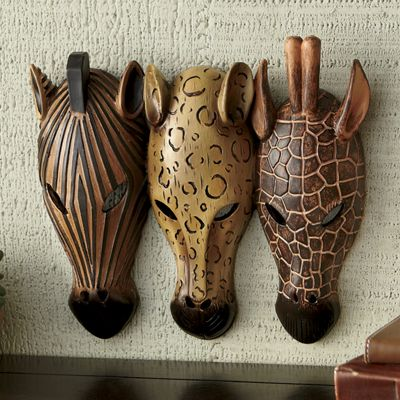 Safari Mask Trio