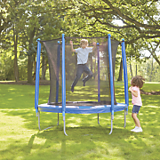 7 1 2  trampoline and enclosure set by upper bounce