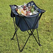 nfl sidekick portable standing beverage cooler