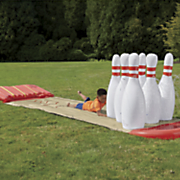 h20 go slide  n splash bowling by bestway