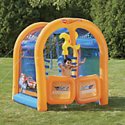 hot wheels car wash play center by bestway