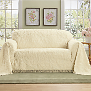 cottage chenille furniture throw