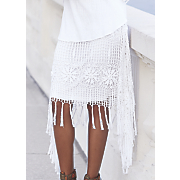 paulina crochet skirt