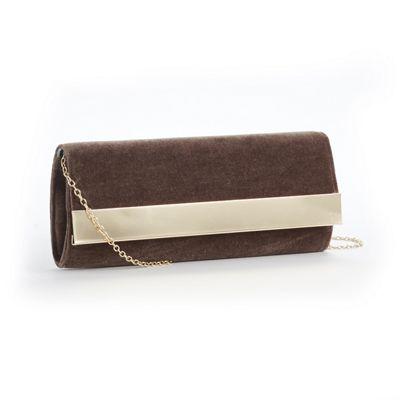Velvet Minaudiére Evening Bag