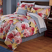 Alana Complete Bed Set, Accent Pillow and Window Treatments