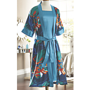 Tropical Waters Robe/Gown Set