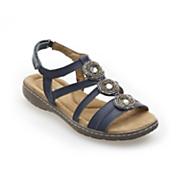 Medallion-Front Sandal by Classique
