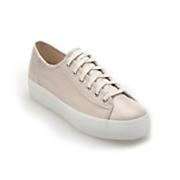 Triple-Kick Metallic Linen Shoe by Keds