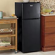 4.6 Cu. Ft. Black Refrigerator/Freezer by Montgomery Ward