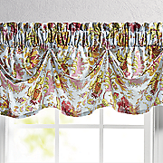 Austrian Gathered Valance