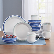 Brushstrokes Dinnerware Set by Rachael Ray