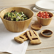 Bamboo Complete Salad Serving Set