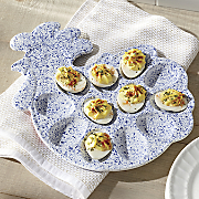 Speckle Rooster Egg Tray by Paula Deen