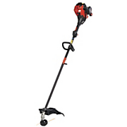 25cc  2 cycle straight shaft gas trimmer by troy bilt