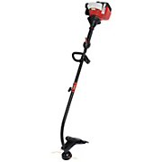22cc  2 cycle curved shaft gas string trimmer by troy bilt