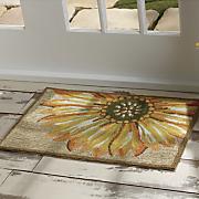 sunflower indoor outdoor mat   1  8  x 2  6