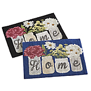 home indoor outdoor mat   1  8  x 2  6