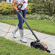 2 in 1 electric landscape edger and trencher by black decker