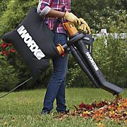 electric trivac blower mulcher vacuum by worx