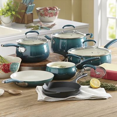 Porcelain Enamel Cookware Set By Pioneer Woman From