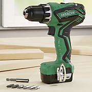 12 volt cordless drill driver by hitachi