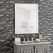set of 8 faux marble metal self stick wall tiles