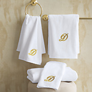 4 pc  personalized wedding towel set