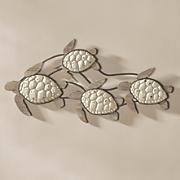 swim turtles wall decor