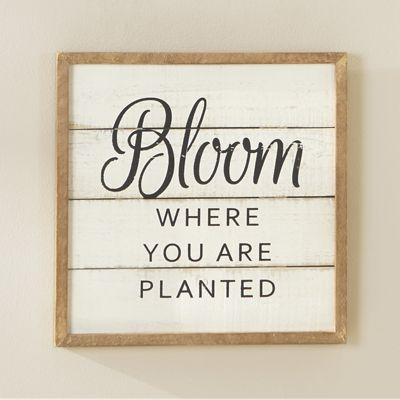 Bloom Sign