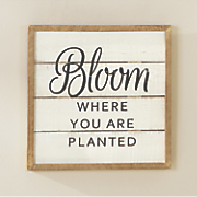 Bloom Sign