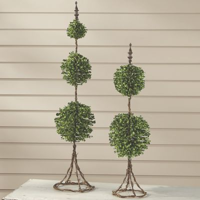 Set of 2 Topiaries