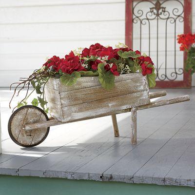 Geranium Cart
