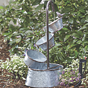 Galvanized Antique Water Fountain