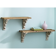 Distressed Wall Shelves