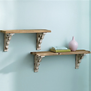 distressed wall shelves 20