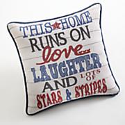 stars   stripes pillow