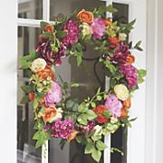 Bright Flower Wreath
