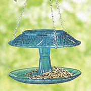 Covered Bird Feeder