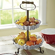 2-Tier Metal Stand
