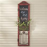 Chalkboard Door Décor