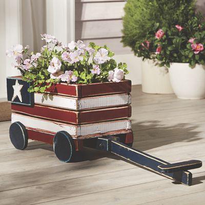 Flag Wagon Planter