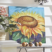 Painted Sunflower Canvas