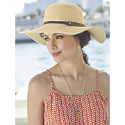 Flip-Flop Glitter Necklace/Earring Set