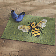 """Bee Indoor/Outdoor Mat - 1' 8"""" X 2' 6"""""""