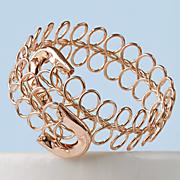wire weave bracelet