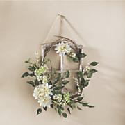 Dahlia Flower Window Frame