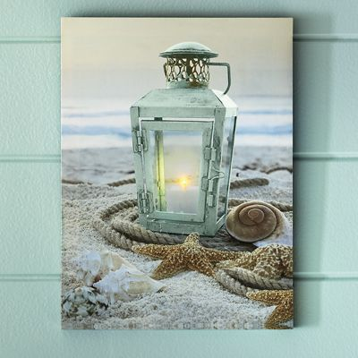 Lit Lantern Canvas
